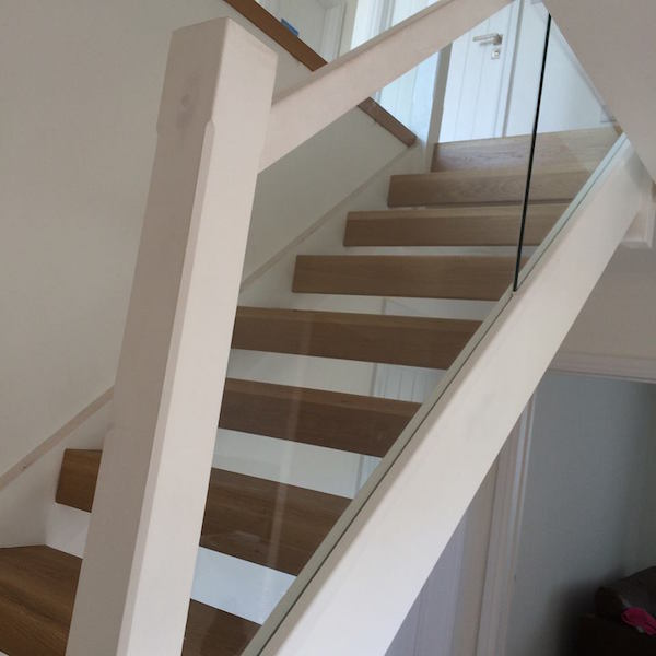 Bay Joinery - Joinery Service Swansea - White Staircase