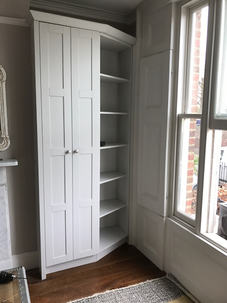 Bay Joinery - Swansea Joinery Service - Bedroom Wardrobes - Bepsoke Corner Wardrobe Unit