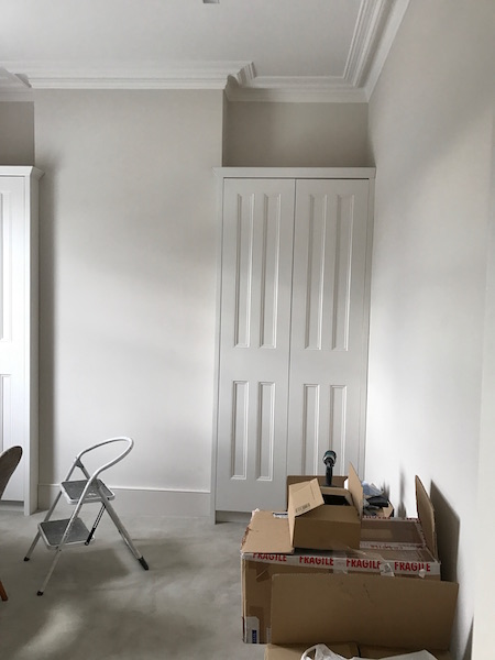 Bay Joinery - Swansea Joinery Service - Bedroom Wardrobes - Custom White Wood Wardrobe 2