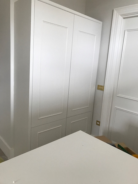 Bay Joinery - Swansea Joinery Service - Bedroom Wardrobes - Custom White Wood Wardrobe 3