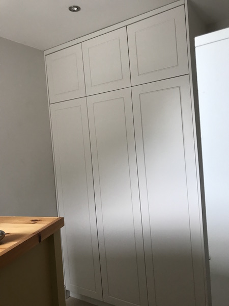 Bay Joinery - Swansea Joinery Service - Bedroom Wardrobes - Custom White Wood Wardrobe 4