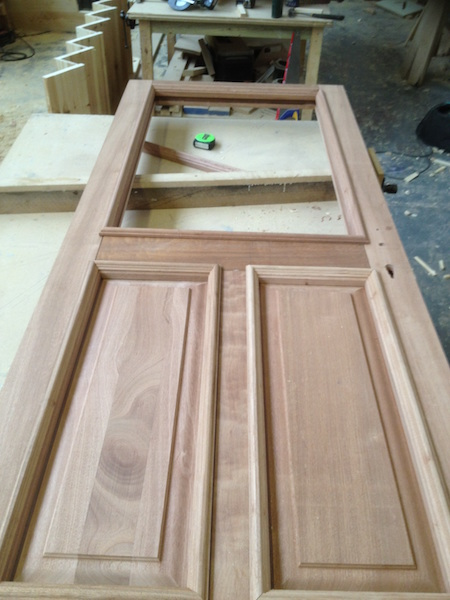 Bay Joinery - Swansea Joinery Service - Doors - Single Wooden Door