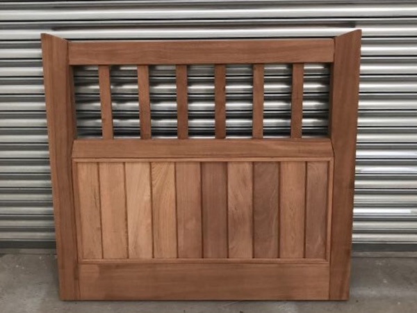 Bay Joinery - Swansea Joinery Service - Gates - Small Wooden Gate