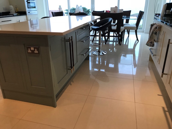 Bay Joinery - Swansea Joinery Service - Kitchens - Bespoke Kitchen Centre Piece Unit 2