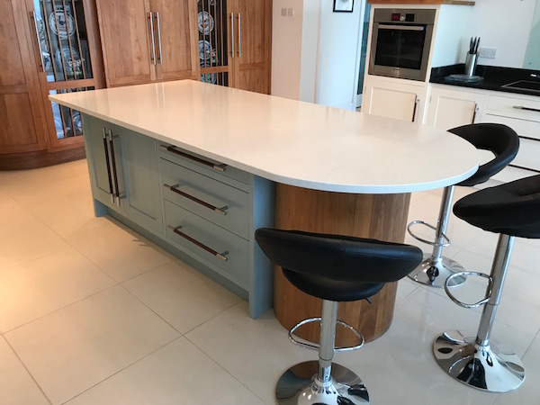 Bay Joinery - Swansea Joinery Service - Kitchens - Bespoke Kitchen Centre Piece Unit 4