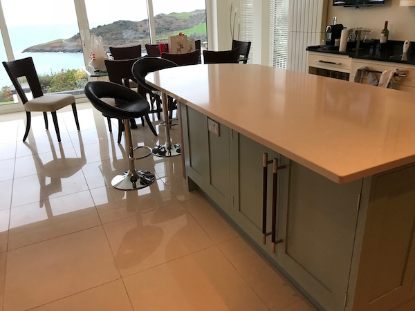Bay Joinery - Swansea Joinery Service - Kitchens - Bespoke Kitchen Centre Piece Unit 5