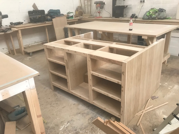 Bay Joinery - Swansea Joinery Service - Kitchens - Bespoke Kitchen Units in Process 1
