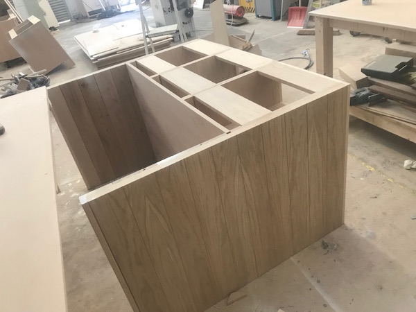 Bay Joinery - Swansea Joinery Service - Kitchens - Bespoke Kitchen Units in Process 2