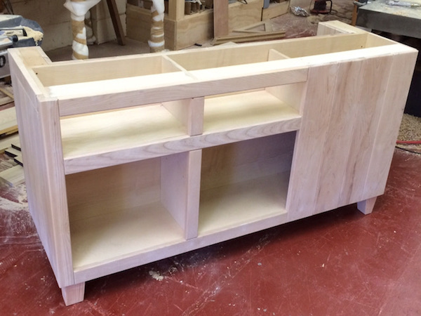 Bay Joinery - Swansea Joinery Service - Kitchens - Bespoke Kitchen Units in Process 5