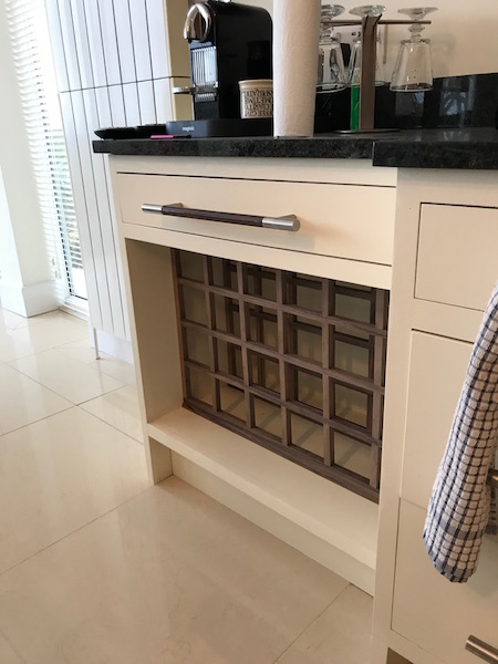 Bay Joinery - Swansea Joinery Service - Kitchens - Bespoke Wine Rack Kitchen