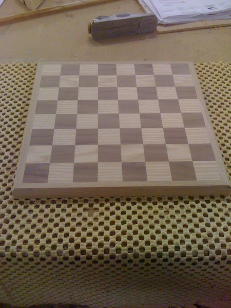 Bay Joinery - Swansea Joinery Service - Misc Joinery - Bespoke Chessboard