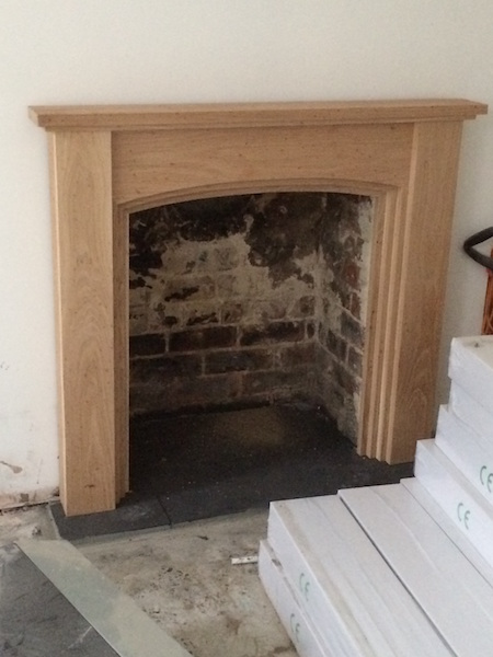 Bay Joinery - Swansea Joinery Service - Misc Joinery - Bespoke Fireplace