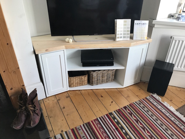 Bay Joinery - Swansea Joinery Service - Misc Joinery - Bespoke TV and Storage Unit