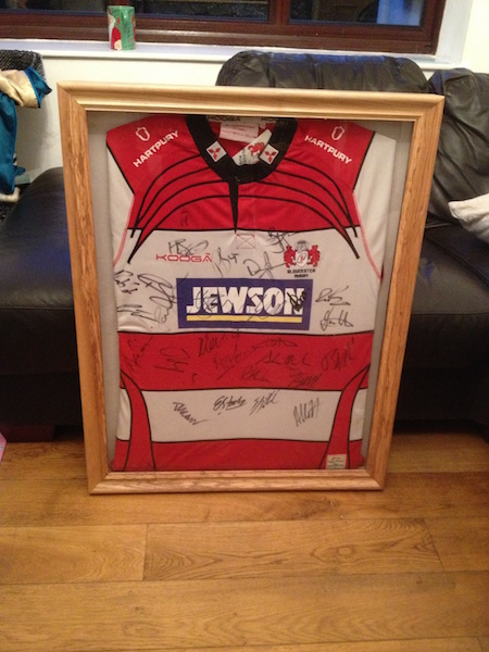Bay Joinery - Swansea Joinery Service - Misc Joinery - Bespoke Wooden Shirt Frame