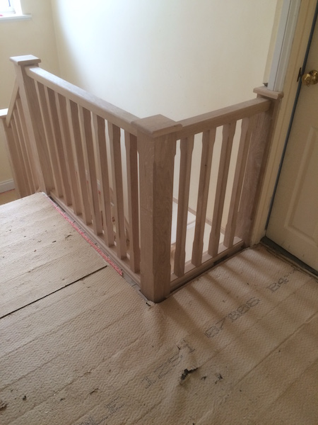 Bay Joinery - Swansea Joinery Service - Stair Refurbishements - Wooden Balustrading 3