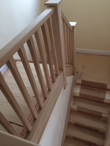 Bay Joinery - Swansea Joinery Service - Stair Refurbishements - Wooden Balustrading 4