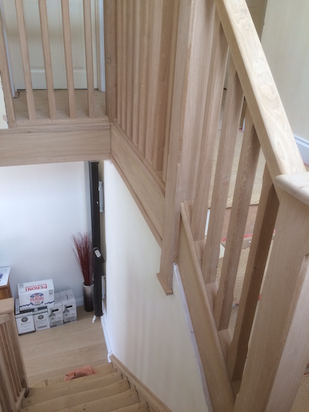 Bay Joinery - Swansea Joinery Service - Stair Refurbishements - Wooden Balustrading 5