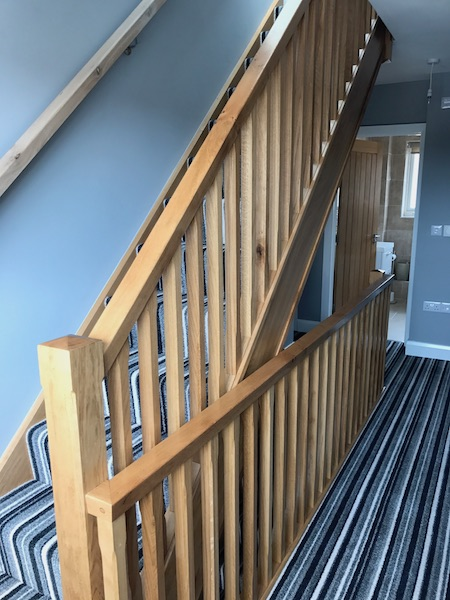 Bay Joinery - Swansea Joinery Service - Stairs - Light Wood Stairs 2