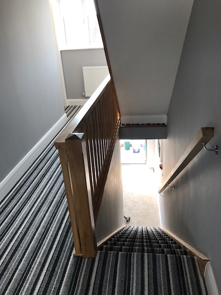 Bay Joinery - Swansea Joinery Service - Stairs - Light Wood Stairs 3