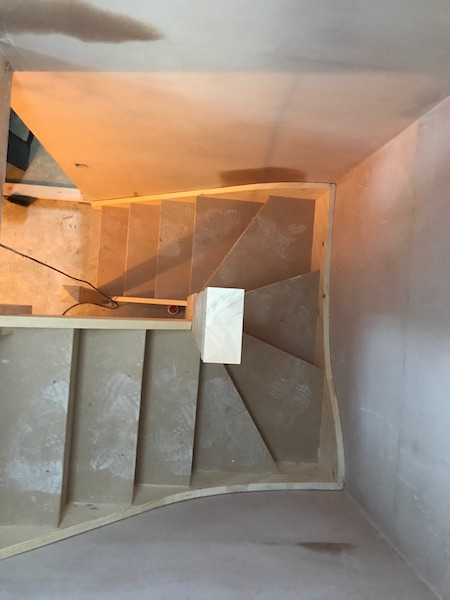 Bay Joinery - Swansea Joinery Service - Stairs - Light Wood Stairs Process 3