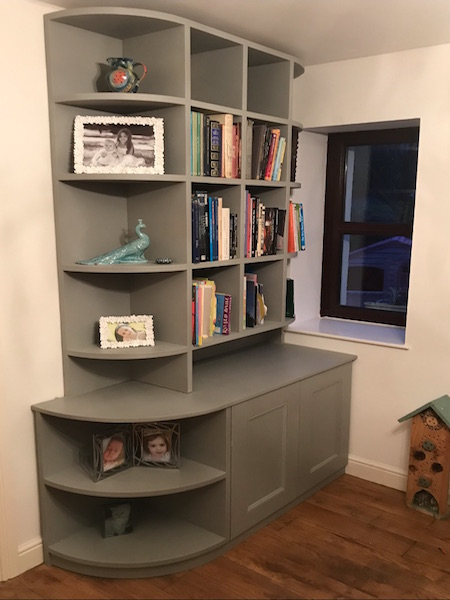 Bay Joinery - Swansea Joinery Service - Storage - Bespoke Bookshelf 1