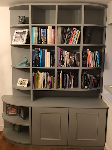 Bay Joinery - Swansea Joinery Service - Storage - Bespoke Bookshelf 2