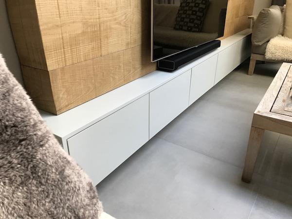 Bay Joinery - Swansea Joinery Service - Storage - Bespoke TV Unit Storage 2